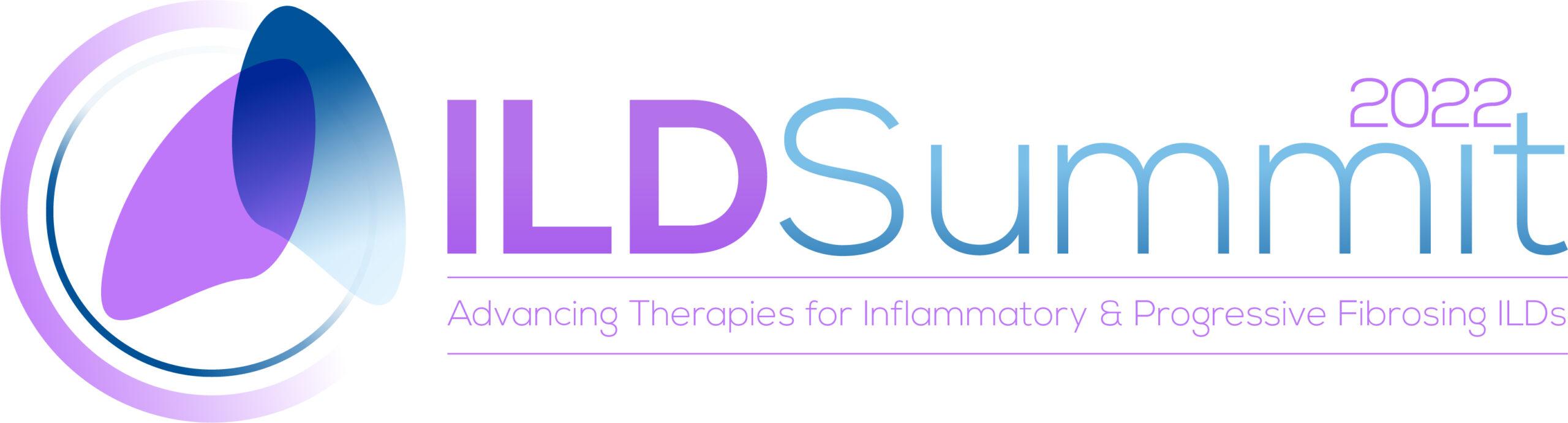 22138 Interstitial Lung Disease Drug Development Summit logo